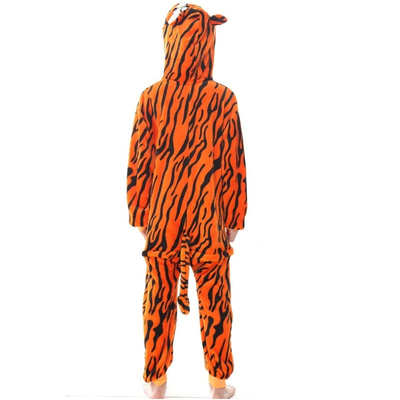 Image of: Cow Kigurumi Tiger Onesies Kigurumi Animal Onesie Hoodie Pajamas Sleepwear Kids Kigurumi Shop Tiger Onesies